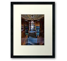 The Last Passenger Framed Print