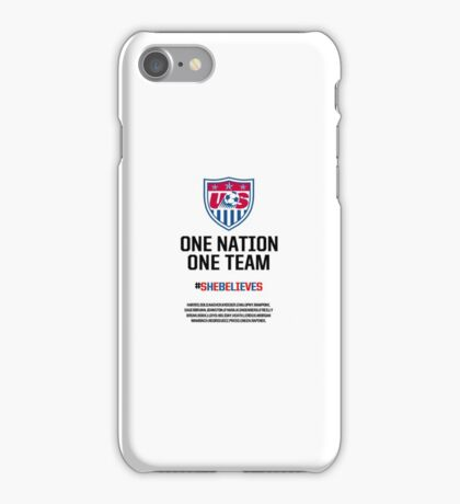 ussoccer women's national team iPhone Case/Skin