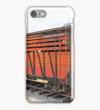 Railway Box Cars iPhone Case/Skin