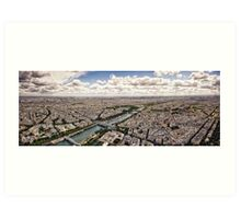Paris 121 Art Print