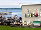 A Fishing Shed, North Rustico, PEI, Canada by Kenneth Keifer