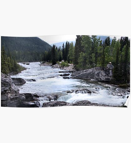 Elbow River View Poster