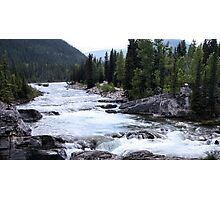 Elbow River View Photographic Print