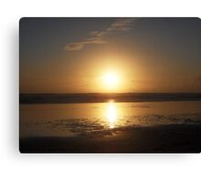Beautiful West Coast Beach Canvas Print
