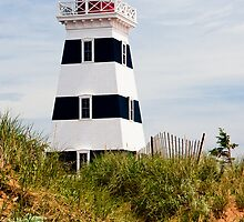 West Point Lighthouse, PEI, Canada by Kenneth Keifer