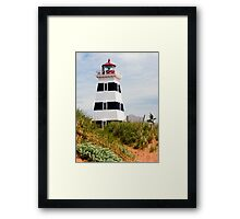 West Point Lighthouse, PEI, Canada Framed Print