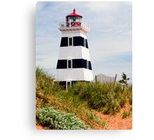 West Point Lighthouse, PEI, Canada Canvas Print