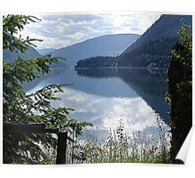 Lower Arrow Lake, Evening Poster