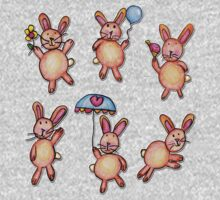 Bunnies by Grace (8) One Piece - Long Sleeve