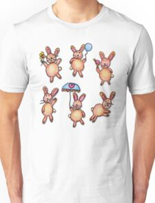 Bunnies by Grace (8) Unisex T-Shirt