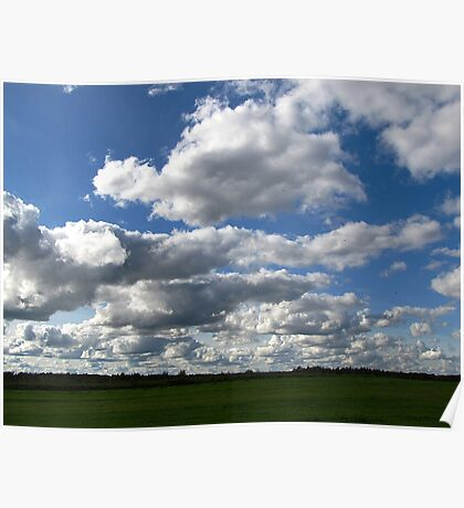 The clouds Poster