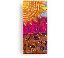 Sunshine and Rain Canvas Print
