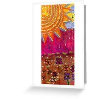 Sunshine and Rain Greeting Card