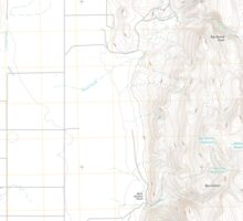 USGS Topo Map Oregon Mahon Creek 20110831 TM Sticker