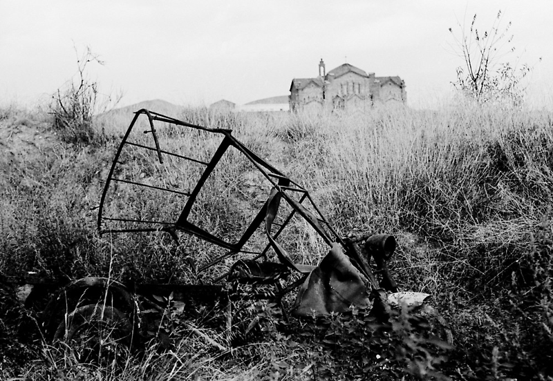 Abandoned Trike by James2001