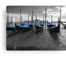 blue covers Canvas Print