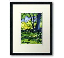 Psychedelic Summer Framed Print