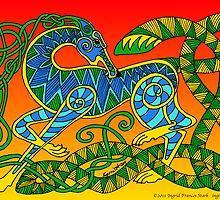 Celtic Hound by ingridthecrafty