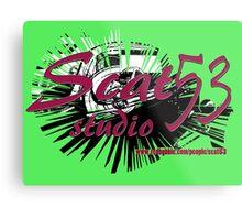 Scat 53 Studio logo Metal Print