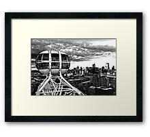 0359 Melbourne Star View Framed Print