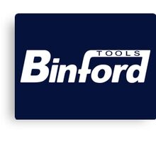 Binford Tools t-shirt - Home Improvement, Tim Taylor, Tool Time, The Tool Man Canvas Print