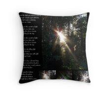 Awakening Divine Self Worth Throw Pillow
