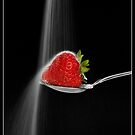 Strawberry and Sugar Waterfall by Lin-Ann Anantharachagan