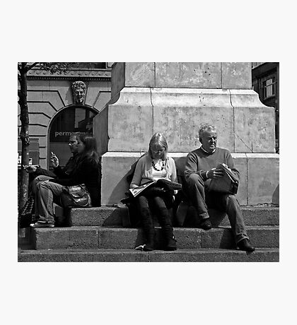 Two couples Photographic Print