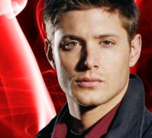 Dean Winchester (Jensen Ackles) - Red Smoke Sticker