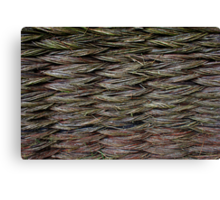 Knitted Fence in Etara, Bulgaria Canvas Print
