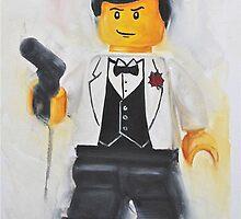 The lego Spy by Deborah Cauchi