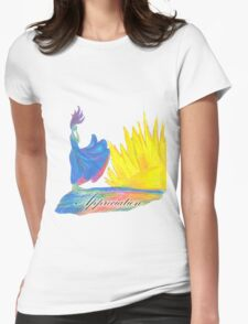 Breathless Appreciation Womens Fitted T-Shirt