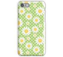 Daisy Gingham iPhone Case/Skin