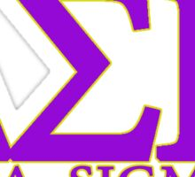 Delta Sigma Pi Sticker
