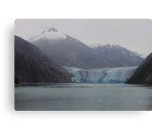 Sawyer Glacier in Tracy Arm Fjord in Alaska .... Canvas Print