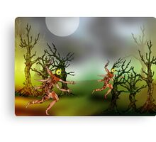 Forest Runners 1 Canvas Print