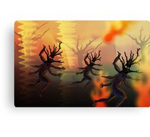 Forest Runners 2 Canvas Print