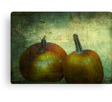 There Were Never Such Devoted Pumpkins Canvas Print