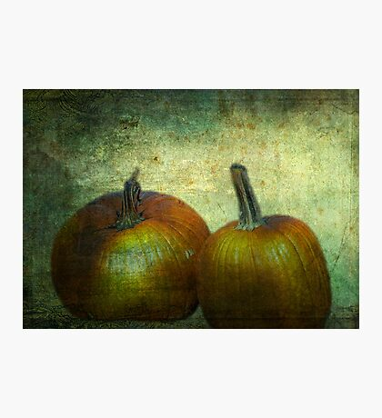 There Were Never Such Devoted Pumpkins Photographic Print