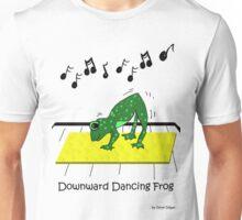 Downward Dancing Frog Yoga Unisex T-Shirt