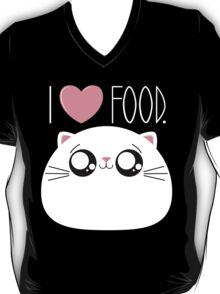 Cats Love Food T-Shirt