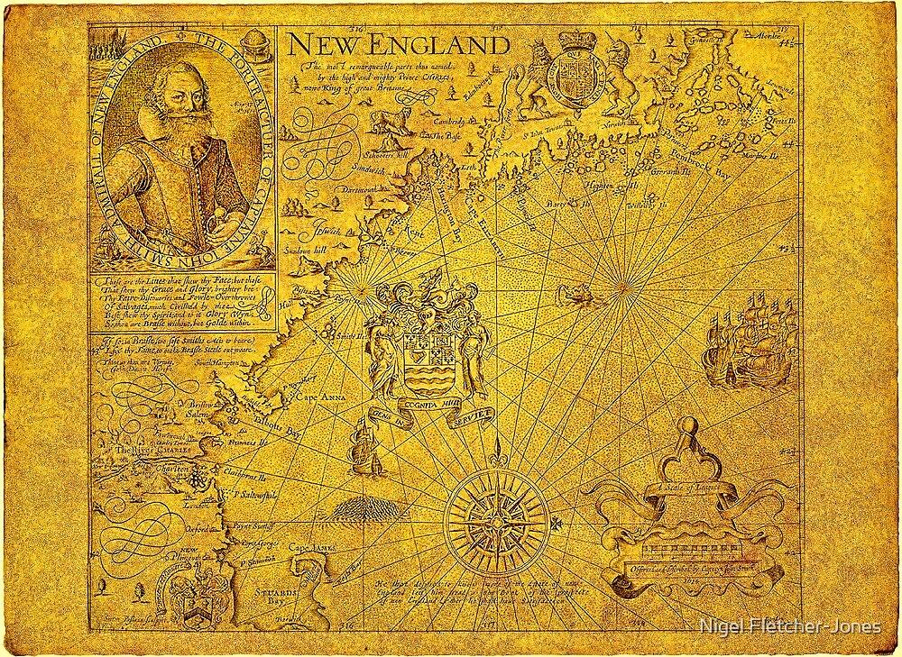 John Smith's New England by Nigel Fletcher-Jones