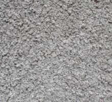 Uneven surface of the gray cement Sticker