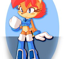 Sally Acorn (Adowable Version) by MegaHayzer