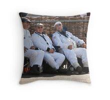 Goodwood Revival 2011, Resting Marshalls Throw Pillow
