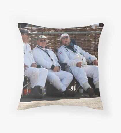 Goodwood Revival 2011, Resting Marshalls Throw Pillow
