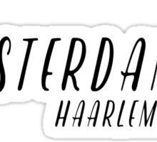 Amsterdam - Haarlemmerbuurt Sticker
