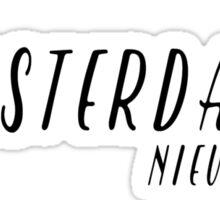 Amsterdam - Nieuwe Zijde Sticker