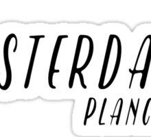 Amsterdam - Planciusbuurt Sticker