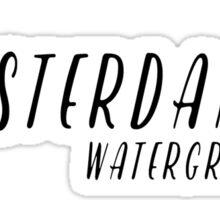 Amsterdam - Watergraafsmeer Sticker
